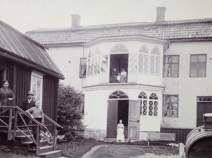 Hotelli Krepelin - Päärakennus - Valokuva 1890-luvulta